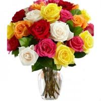 Букет из 15 роз (цвет на выбор)
