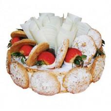 """Бисквитно-миндальный торт """"Кумушка"""""""