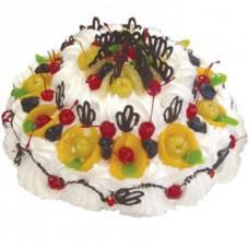 """Бисквитный торт """"Фруктовый сад"""""""