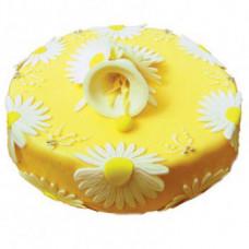 """Бисквитный торт """"Цветочный"""" 1 кг."""