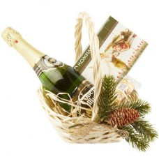 """Новогодняя подарочная корзина """"Поздравляю"""""""