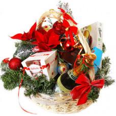 """Подарочная корзина """"С праздником"""""""