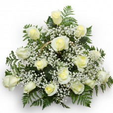 """Корзина из 15 роз """"Торжественная"""""""