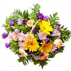 """Корзина с цветами """"Сюрприз"""""""