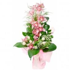 Букет из 1 ветки орхидеи