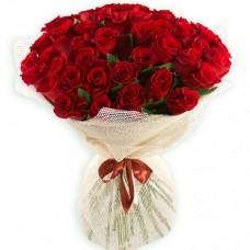 Букет из 51 красной розы по специальной цене