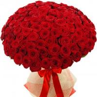 Букет из 101 красной розы по специальной цене