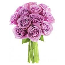 """13 сиреневых роз в букете """"Марпл"""""""