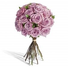 """Букет 25 фиолетовых роз """"Монди"""""""