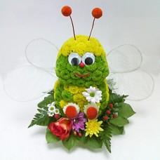"""Игрушка из живых цветов """"Пчелка"""""""