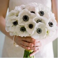 """Букет невесты с анемонами """"Белла"""""""