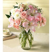"Букет из роз, лилий и хризантем ""Мио"""