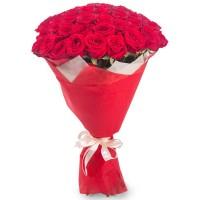Букет из 35 красных роз по специальной цене