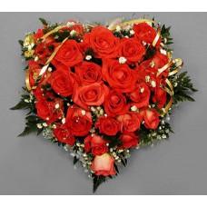 Валентинка из нежнейших роз