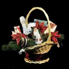 "Новогодняя подарочная корзина ""Christmas time"""
