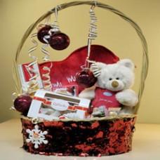 """Новогодняя подарочная корзина """"Моей любимой"""""""