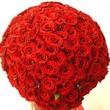 Букет из 250 красных роз Гран При