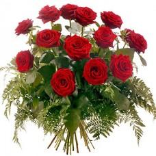 Букет из 15 красных роз Гран При