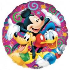 Воздушные шары фольгированные (разной тематики)