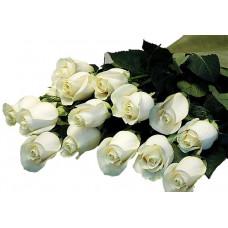 Букет из 15 белых роз Венделла